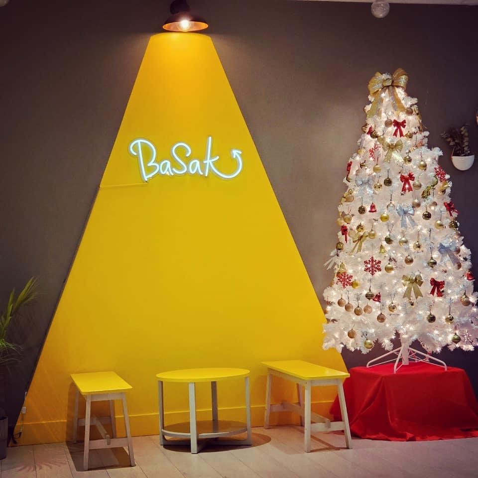 Christmas in Basak Cafe