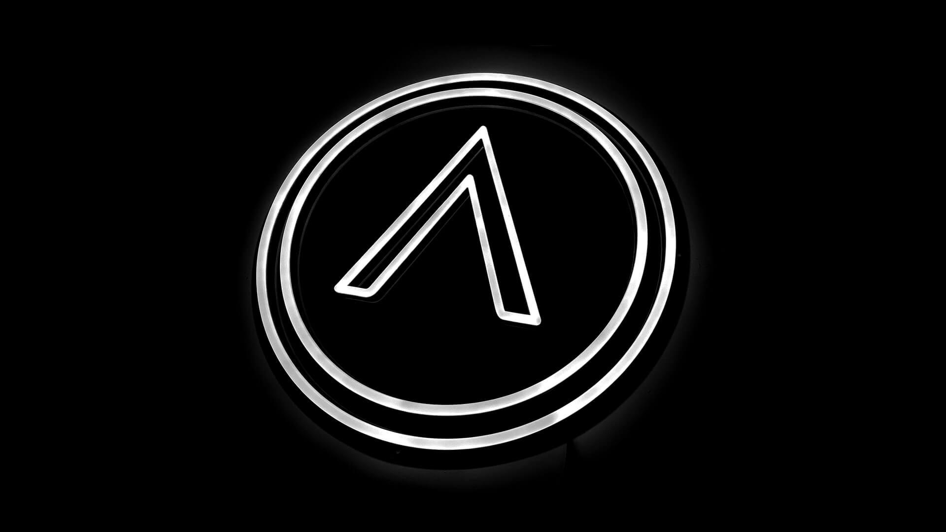 Double Stroke Custom Logo Neon sign