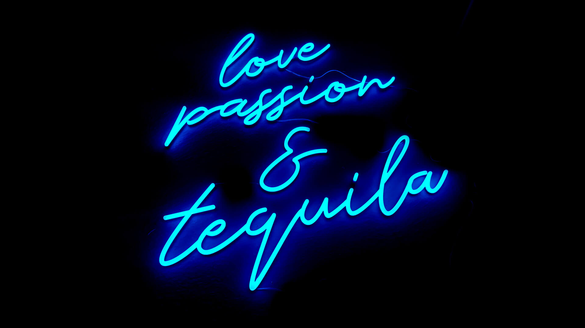 Bar Neon Sign for El Jardin Tequila Bar