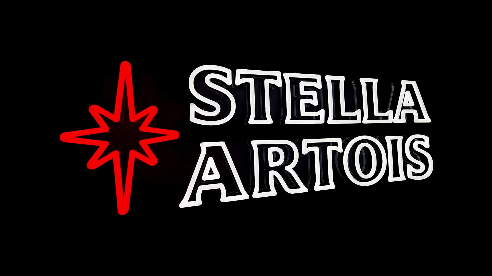 Stella Artois Beer Neon Sign